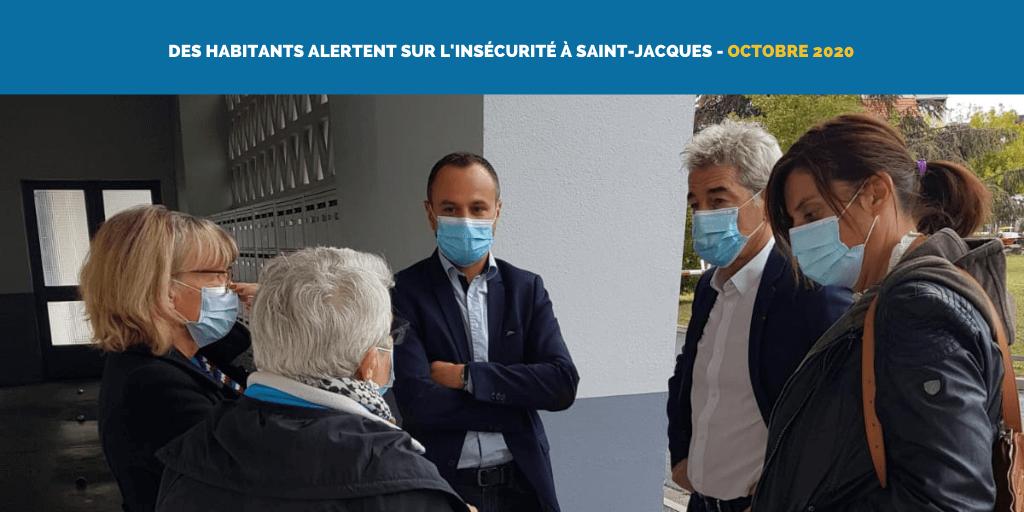 Des habitants alertent sur l'insécurité à Saint-Jacques