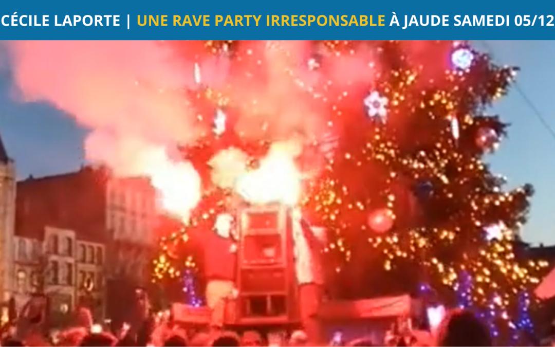 Rave Party irresponsable sur la place de Jaude samedi 05 Décembre 2020