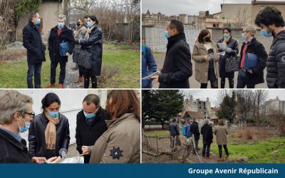 Bétonnage d'espace vert : Rencontre des élus avec les riverains du quartier des Bughes