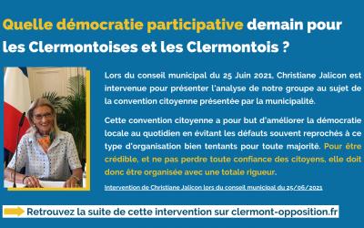 Quelle démocratie participative demain à Clermont-Ferrand ?