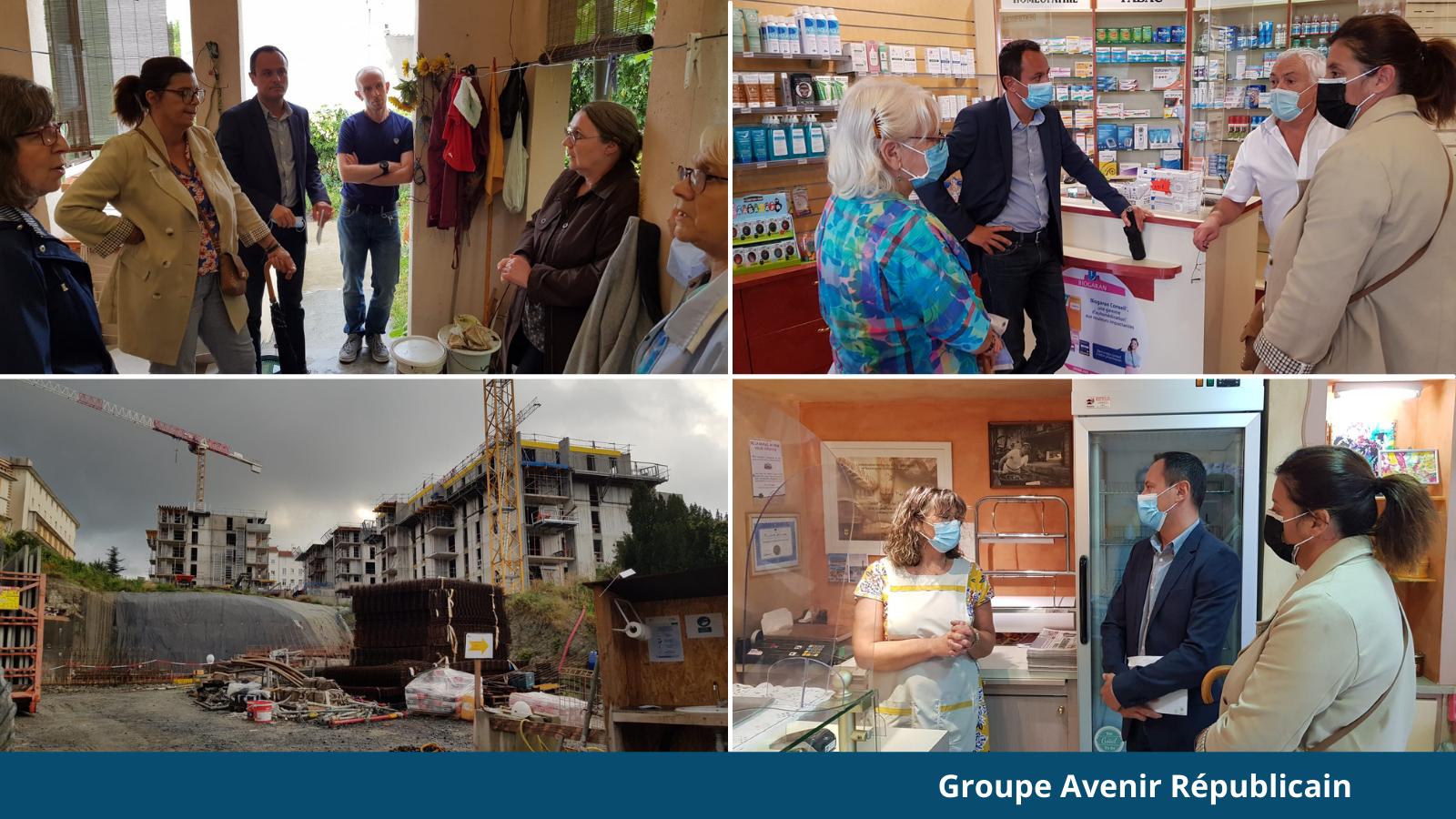 Rencontre des élus avec les riverains du quartier Thévenot Thibaud